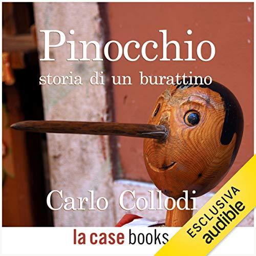 Pinocchio, storia di un burattino audiobook cover art