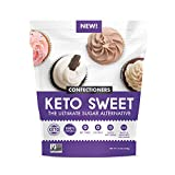 KETO:SWEET Ultimate Sugar Alternative 100% Natural Erythritol Confectioners In Resealable Bag, Unflavored, 12 Oz