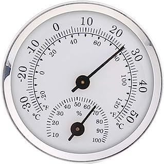 siwetg Thermomètre et hygromètre en U à fixer au mur
