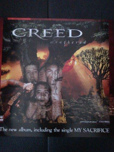 Creed Weathered Poster Drucken (59,69 x 59,69 cm)