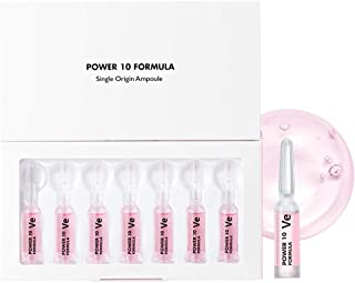 IT'S SKIN Power 10 Formula VE Single Origin Ampoule 1.7ml x 7ea - Rose Water & Berry Extract Contained, Skin Protection & ...
