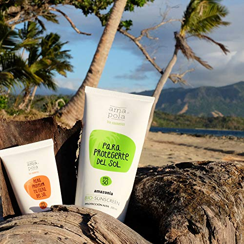 Amapola Bio Protector Solar Facial Amazonia FPS25 50ml
