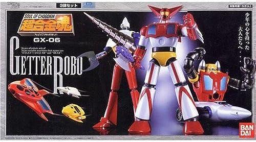 SOUL OF CHOGOKIN GX-06 - Getter Robo