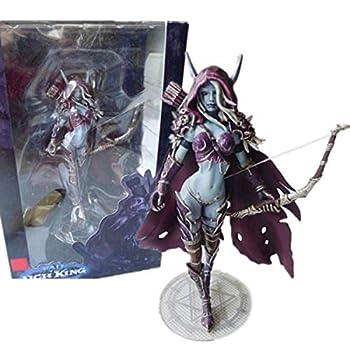 World of Warcraft Forsaken Queen Sylvanas Windrunner Action Figure Kid Toy 5.5