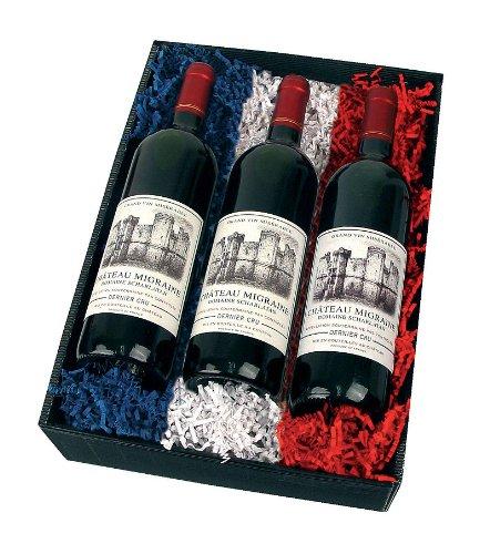 3 Flaschen Rotwein Chateau Migraine
