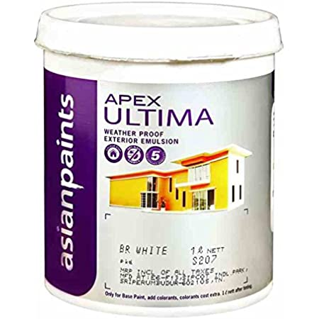 Asian Paint Apex Ultima 20 L White Amazon In Home Improvement