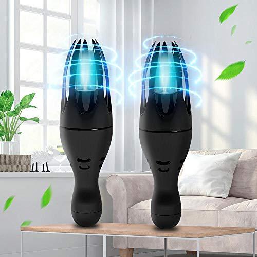 Luz de Esterilización UVC + Ozono, Lumary Lámpara De Desinfección Portable Tasa de Esterilización del 99.99% para Armario,Maletas etc
