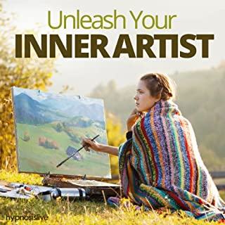 Unleash Your Inner Artist Hypnosis audiobook cover art