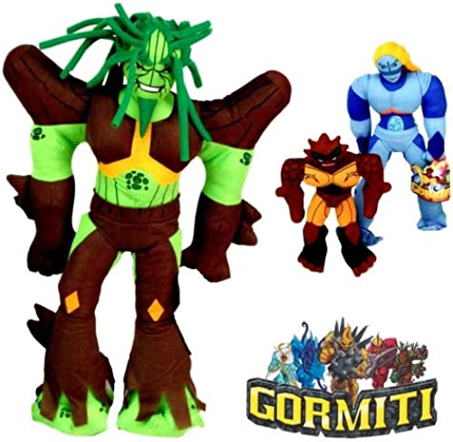 Kingdiscount 12 Stück Gormiti Plüsch Gormiti Gr. 5