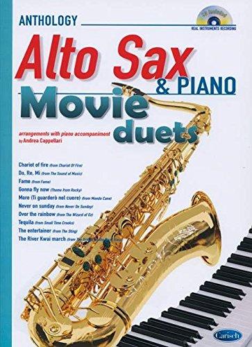 MOVIE DUETS FOR ALTO SAX & PIANO +CD
