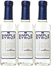 Stirrings Pure Cane Simple Syrup Cocktail Mixer - Excellent Flavoring for Coffee, Tea, and Baking | Pack of (3) | Pure, Na...