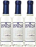 Stirrings Pure Cane Simple Syrup Cocktail Mixer - Excellent Flavoring for Coffee, Tea, and Baking |...