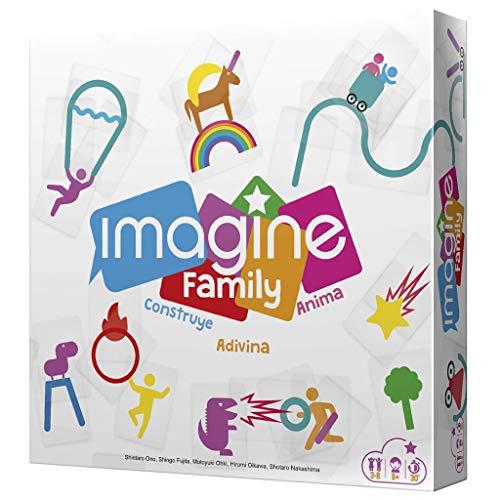Cocktail Games- Imagine Family - Juego de Mesa en Español, Color (CGIMFA01)