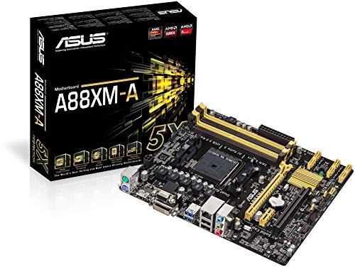 Asus A88XM-A Mainboard Socket FM2+ (Micro-ATX, AMD A88X, SATA III, D-Sub, DVI, HDMI, USB 3.0)