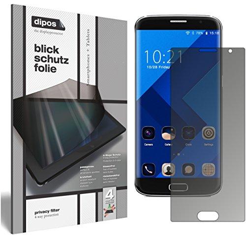 dipos I Blickschutzfolie matt kompatibel mit BLUBOO Edge Sichtschutz-Folie Bildschirm-Schutzfolie Privacy-Filter
