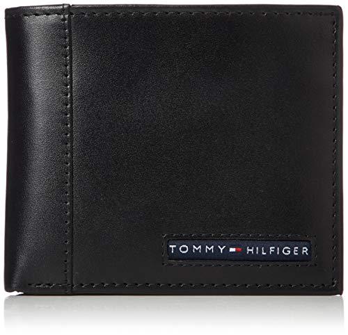 トミー ヒルフィガーTOMMY HILFIGER 2つ折り財布ケンブリッジ 31TL25X023 001 ブラック[並行輸入品]