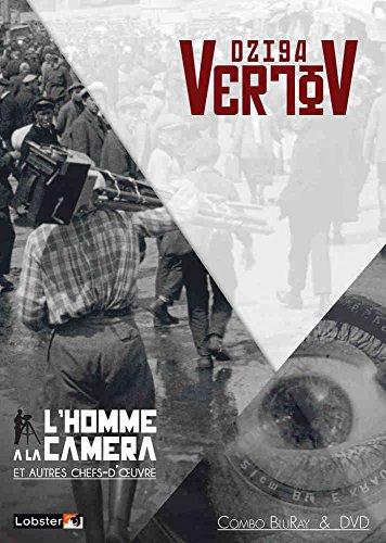 Dziga Vertov - 4 films : L'homme à la Caméra + Kino Eye + Enthousiasme + Trois chants pour Lénine [Francia] [Blu-ray]