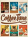 Coffee Time 2020, Wandkalender im Hochformat (50x66 cm) - Kaffee-Plakate im Retrostil, Nostalgische Illustrationen und Plakatmalerei, Kunstkalender - Ackermann Kunstverlag