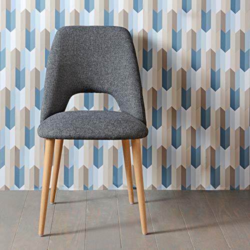 Adept Home 136445 Chaise GENTIANNE, Multicolore, Unique