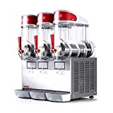 UGOLINI MT (3 Bowls x 10 Liters) 30L Commercial Granita Slush Margarita Smoothie Frozen Drinks Beverage Maker Machine Dispenser - Made in Italy