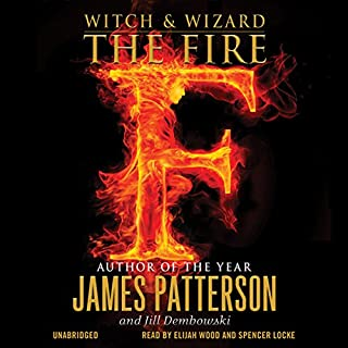 Witch & Wizard: The Fire audiobook cover art