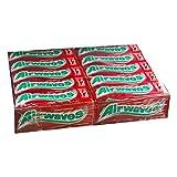 Gomas de chicle Wrigleys Airwaves Cherry mentol Dragee – 30 paquetes