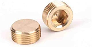 Sturdy 10pcs Copper Flaring Directly Connect 1//8 1//4 3//8 1//4 Male Thread Brass Fitting Copper Expansion Estuary Flared Adapter Connector Size : 12mm Pipe OD, Thread Specification : 18