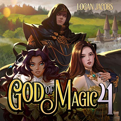 God of Magic 4 audiobook cover art