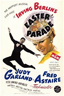Easter Parade Movie Poster (27 x 40 Inches - 69cm x 102cm) (1948) -(Fred Astaire)(Judy Garland)(Peter Lawford)(Ann Miller)(Jules Munshin)(Joi Lansing) by MG Poster
