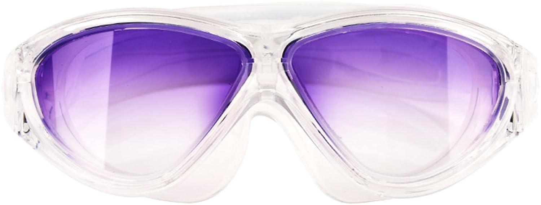 Arbeiten Sie die Schwimmenschutzbrillen Anti-Nebelschwimmenglser um, die wasserdichte Mnner und Frauen Erwachsene Schwimmenschutzbrillen tauchen ZHJING