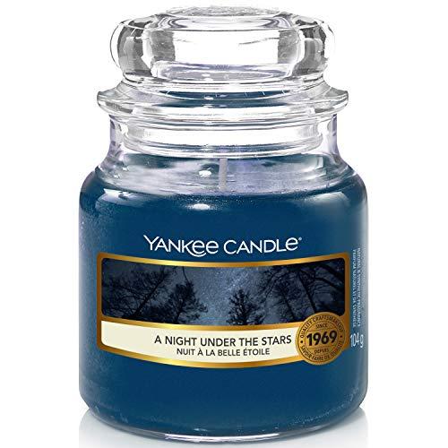 Yankee Candle Candela profumata in giara piccola | Una Notte sotto le Stelle | durata: fino a 30 ore