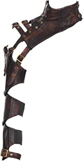 Steampunk VTG Retro leather arm warmer bolero Shrug Shawl Cape Wraps Top Jacket