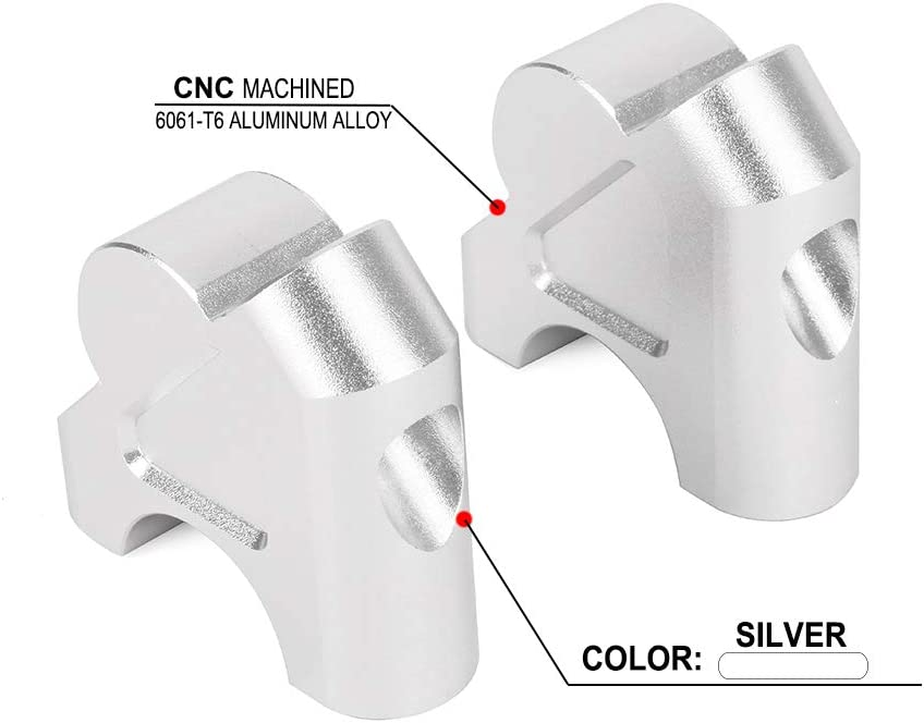 Motorcycle Handlebar Risers Bar Clamp Adapter - Max 54% OFF Ra Limited price sale Extend