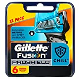 Gillette - Ancienne version - Fusion ProShield Flexball lames de rasoir pour homme–Lot de 6