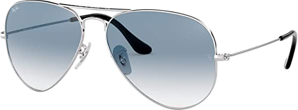 Ray-Ban RB3025 003/3F 55mm Silver / Crystal Gradient Light Blue Made in Italy
