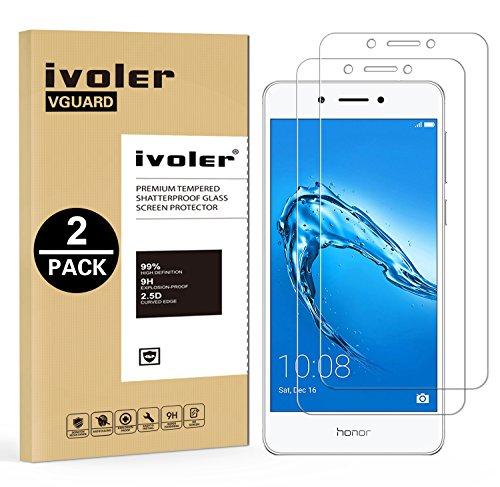 iVoler [2 Pack] Pellicola Vetro Temperato per Huawei Nova Smart, Pellicola Protettiva, Protezione per Schermo
