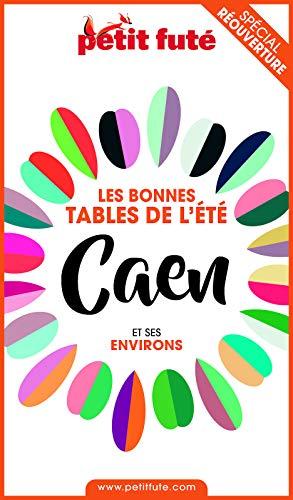 Couverture du livre BONNES TABLES CAEN 2020 Petit Futé