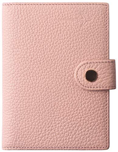 Passport Holder Cover for Women Cute Pink US Slim Ultra RFID Blocking family 2 Passport Wallet