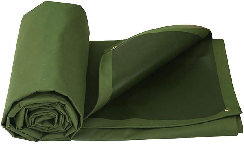 MONFS Home Tente extérieure bache imperméable épaisse avec Tente de Toile Pliable perforée (Couleur   A, Taille   3×2m)