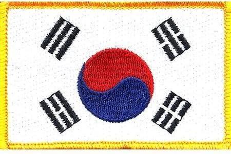 1 X South San Antonio Luxury Mall Patch Korea Flag