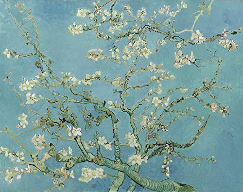 Vincent Van Gogh Giclee Arte Carta Stampa Opere d'Artee Dipinti Poster Riproduzione(Mandorlo in Fiore)
