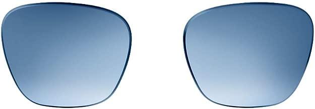Colección de lentes Bose Frames con lentes de repuesto intercambiables.