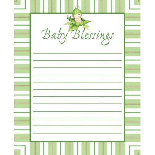 Sweet Pea Advice Cards (8 count) by Creative Converting