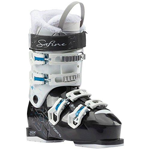 Tecno Pro Damen Ski Schuh Skischuh Safine Pearl 60 / schwarz/weiß/blau, Größe:25.5