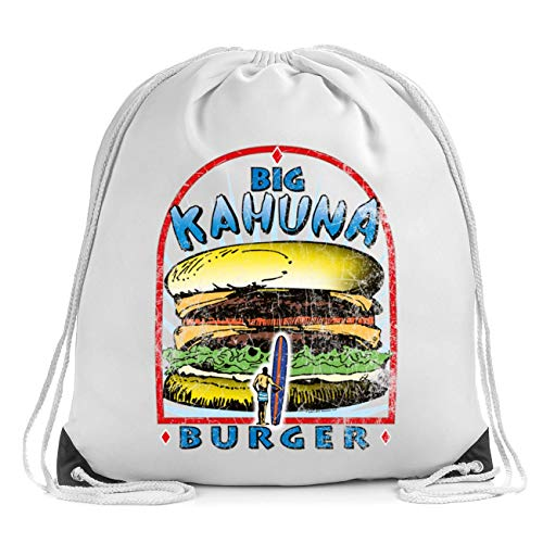 Big Kamuna Burger Bolsa de Cuerdas Drawstring Bag Gym Backpack