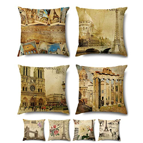 Coeufuedy Decorative Throw Pillow Covers Set for Couch Pillow Case Velvet Soft Square Cushion Cover 18x18 Inch 45 x 45 cm Set of 4