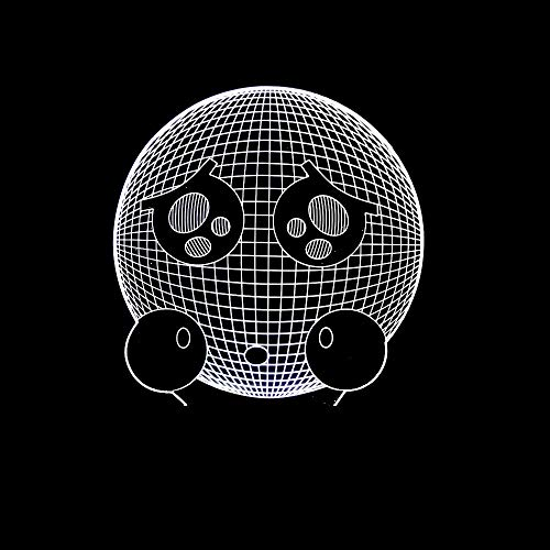 3D Led Luz De Noche Emoji 7 Colores Lámpara De Decoración Cambio - Regalo Perfectos Para Niño, Ilusión Óptica,Lámpara,Luz Nocturna
