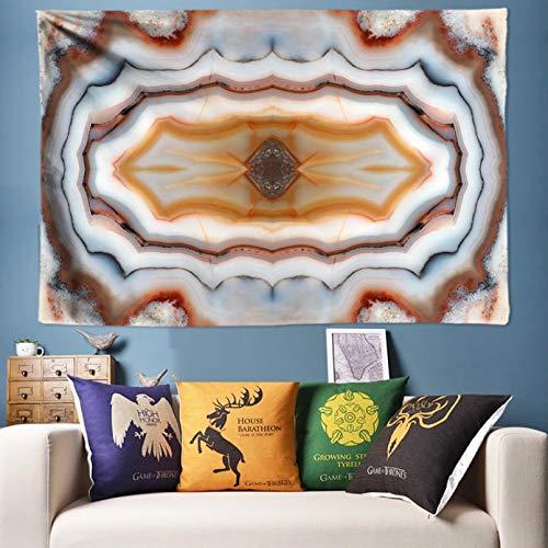 N/A Impresión 3D de tapices Azulejos Textura Arte de la Pared Tapiz Hippie Tapiz de Pared Alfombra de Pared Paño de Fondo Pintura de Pared 3D Pared 130 CM X 150 CM