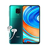 Xiaomi Redmi Note 9 PRO -Smartphone 6.67' FHD+ DotDisplay (6GB RAM, 64GB ROM, Quad Camera , Alexa Hands-Free, 5020mah Batteria, NFC) 2020 [Versione Italiana], Verde (Tropical Green)