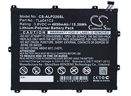 Batería compatible con ALCATEL One Touch Held 8, One-Touch-POP 8, OT-9020A, OT-D820X, OT-P320X, OT-P350X, P320A, Trek-HD-Teil NO TLp041C2, TLp041CC